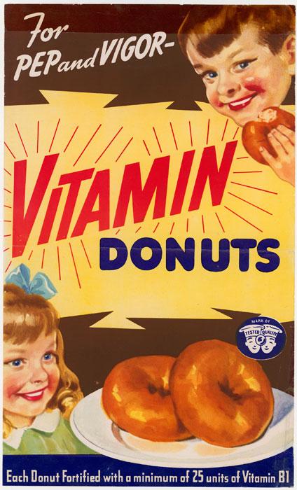 Vitamin Donuts, WWII | Retronaut