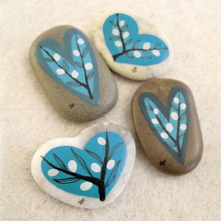 painted stones, total art soul