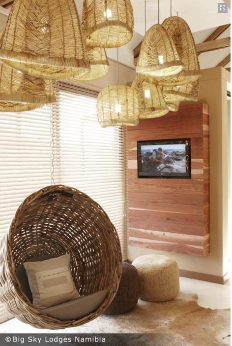 wood + baskets Big Sky Lodges Namibia