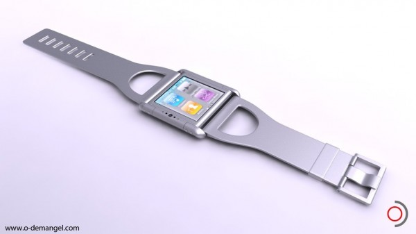 Iphone Nano Watch Concept by Olivier Demangel | The Wondrous Design Magazine2