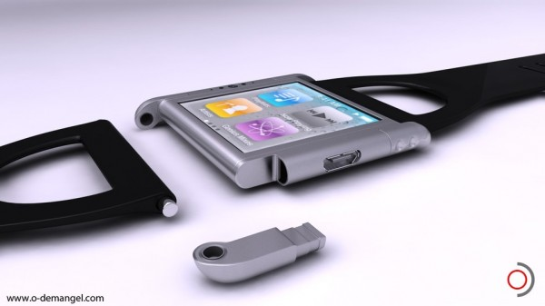 Iphone Nano Watch Concept by Olivier Demangel | The Wondrous Design Magazine4