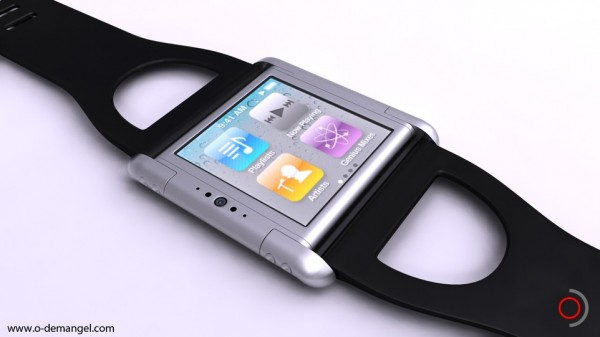 Iphone Nano Watch Concept by Olivier Demangel | The Wondrous Design Magazine1