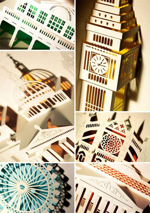 london paper landmarks