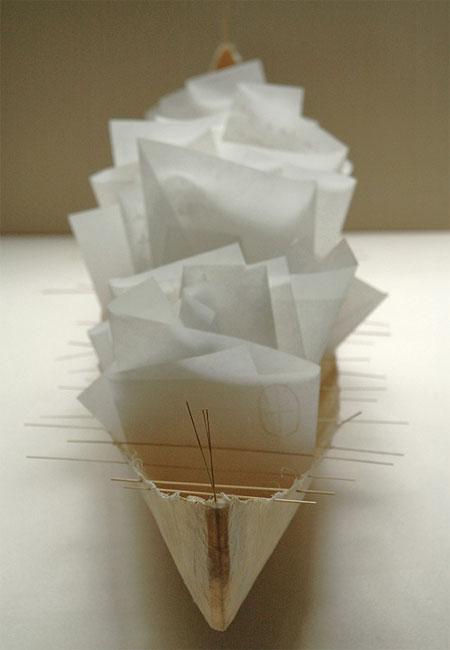 Work by paper artist, Marlis Maehrle