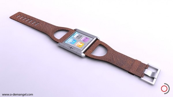 Iphone Nano Watch Concept by Olivier Demangel | The Wondrous Design Magazine3