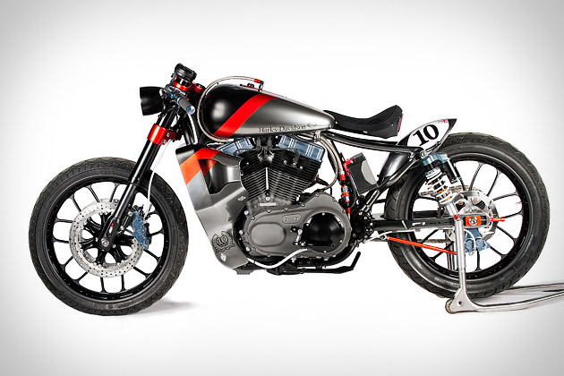 Shaw F1-XLR Harley Nightster Motorcycle | Uncrate