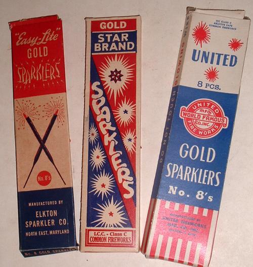 vintage sparklers, CMYBacon