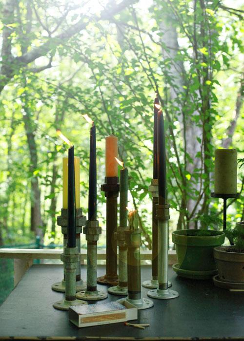 DIY Candleholders