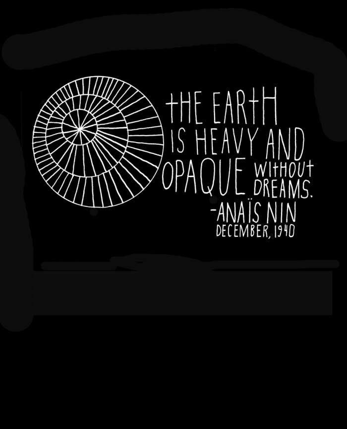 Anaïs Nin on Life, Hand-Lettered by Artist Lisa Congdon