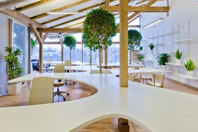 Office Greenhouse by OpenAD » CONTEMPORIST