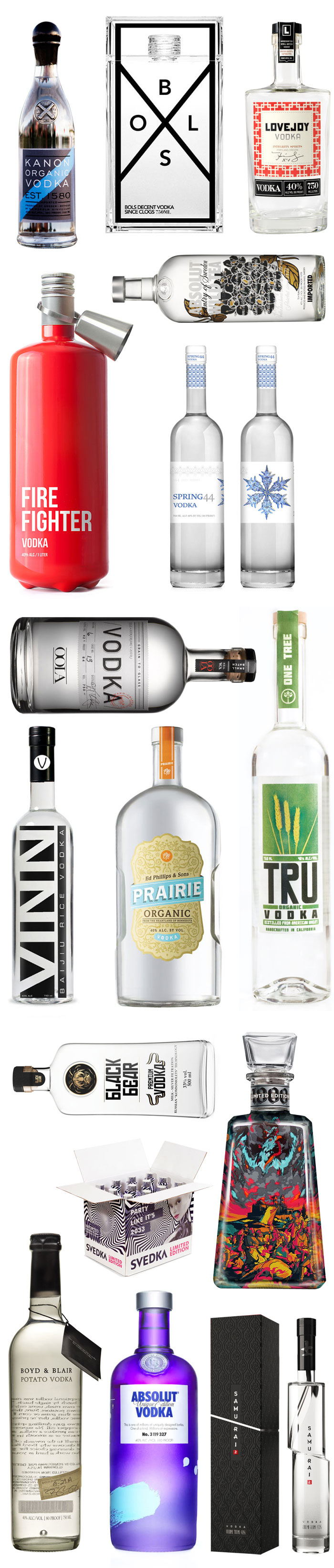 Happy National Vodka Day - The Dieline