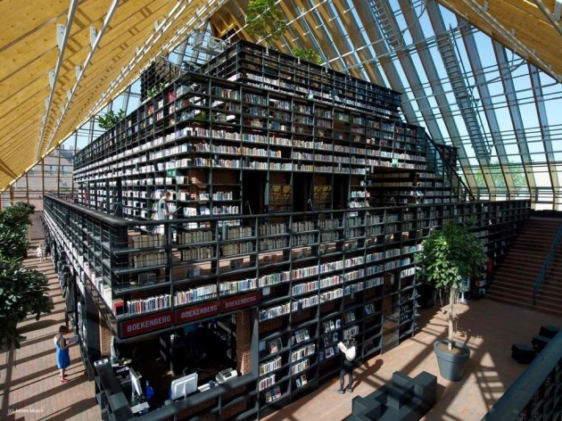 Spijkenisse Book Mountain by MVRDV » CONTEMPORIST