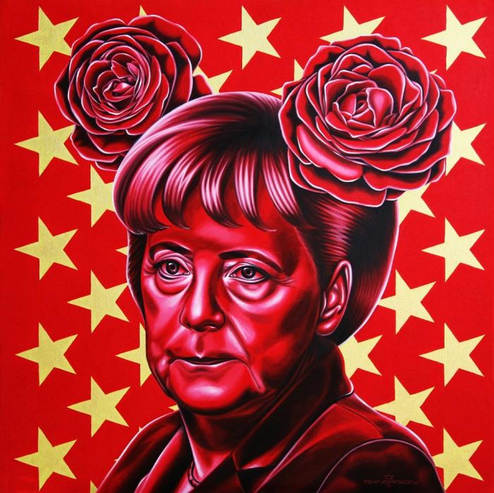 Rinat Shingareev Pop Icon Paintings 2
