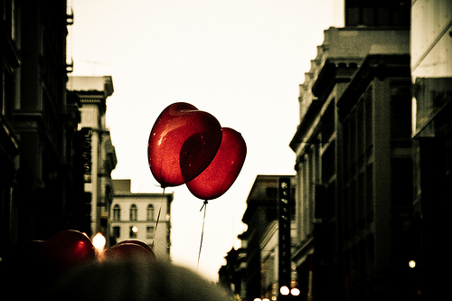 I Heart Balloons by Cyril Caton