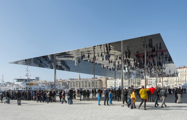 the Vieux Port Pavilion in Marseille, France