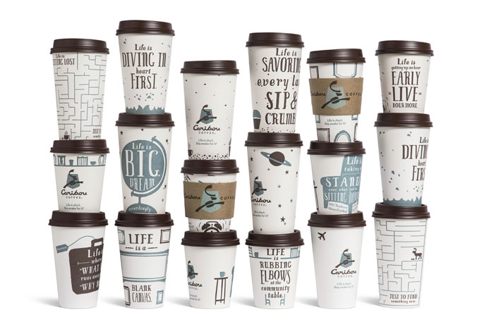 caribou coffee campaign