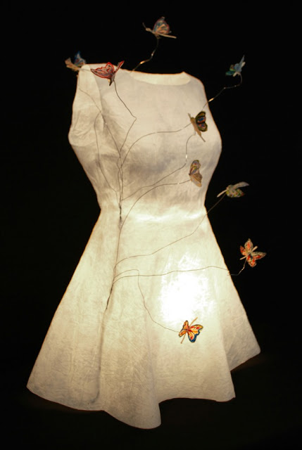 Sculpted Paper Dresses - Georgia Karanika-Karaindrou