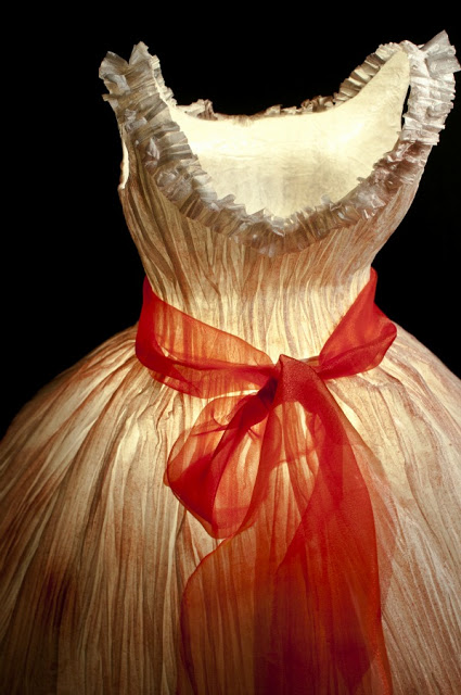 Sculpted Paper Dresses - Georgia Karanika-Karaindrou3