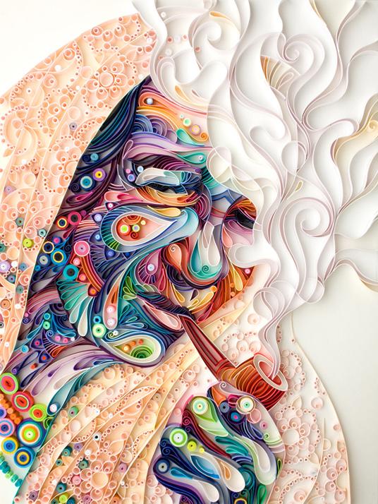Yulia Brodskaya - paper quilling
