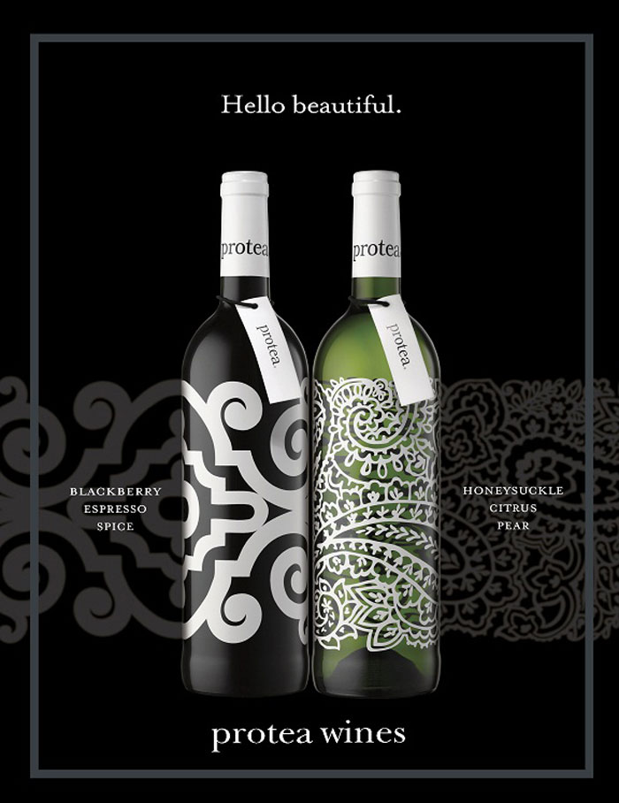 Protea via The Dieline