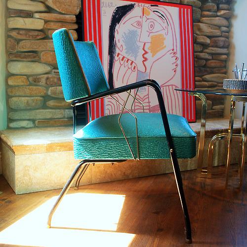 retro chair turq_tumblr