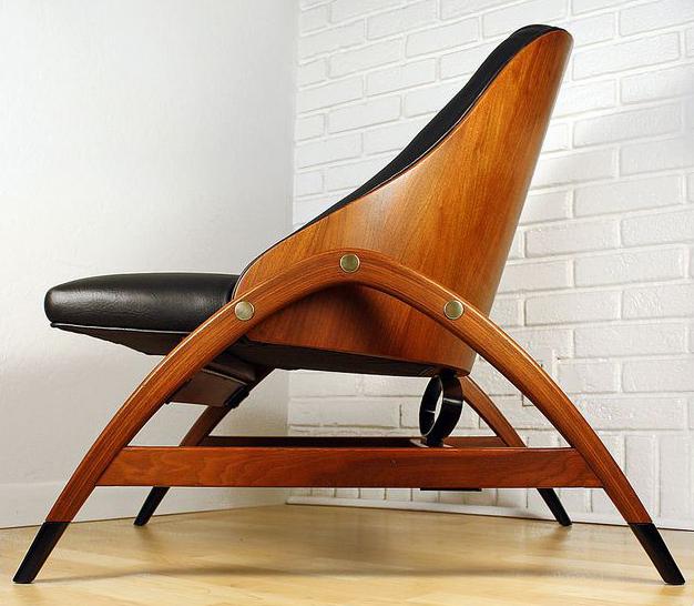 wooden retro chair