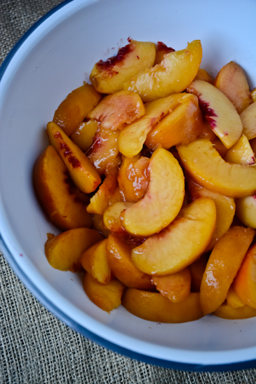 blissful eats with tina jeffers: Peach and cardamom galette