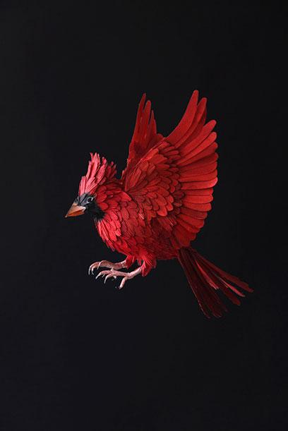 Diana Beltran Herrera's Flock of Paper Birds2