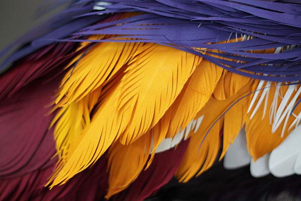 Diana Beltran Herrera's Flock of Paper Birds5