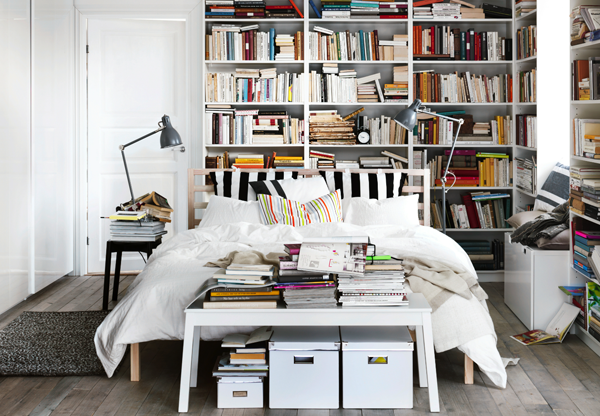 reading bedroom+homedelicious