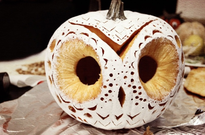 melanie ber owl o' lantern