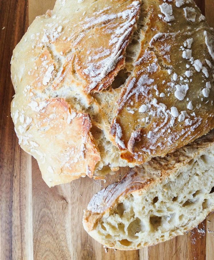 No Knead Artisan Bread2
