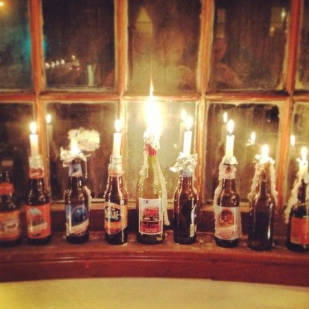 Vermont Beer Menorah