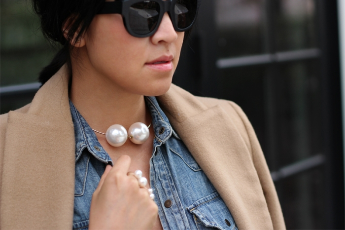 pearl chocker