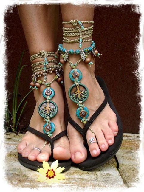 turq sandals